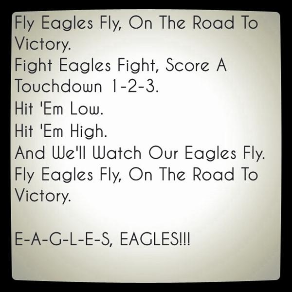 Eagles Fight Song #FlyEaglesFly
