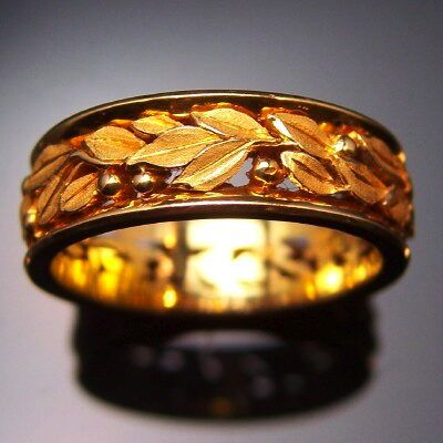 Gold Band by Thomas Herman( Seven Fingers)