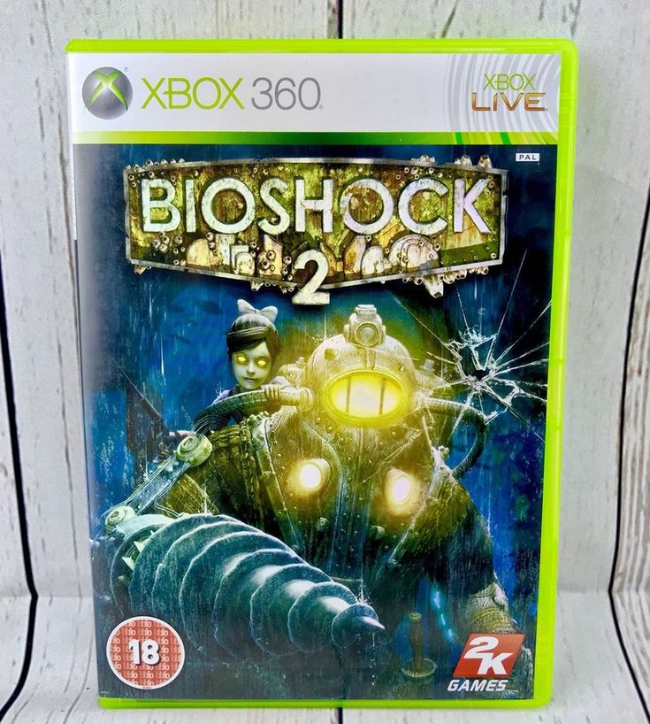 BioShock 2 game for Xbox 360 Xbox One Compatible Original & Complete Look 👀
