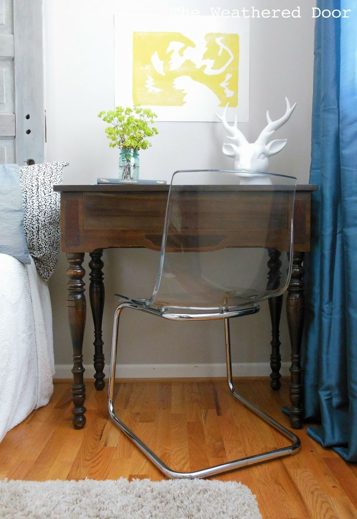 die besten 25 schreibtisch aus dunklem holz ideen auf. Black Bedroom Furniture Sets. Home Design Ideas