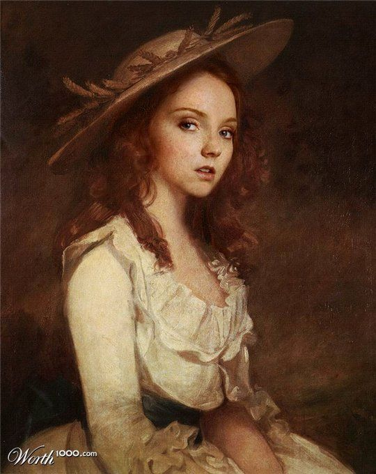 celebrities in the Renaissance - Lily Cole