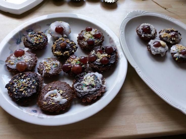 Homebake chocolat cupcakes