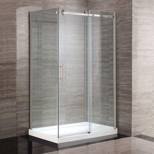 Ove douche en coin kelsey de 48 po salle de bain for Ove salle de bain
