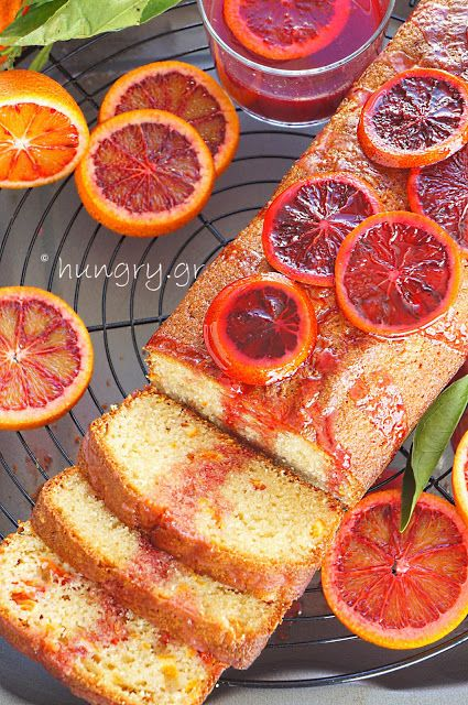 Kitchen Stori.es: Κέικ με Σαγκουίνια & Ελαιόλαδο
