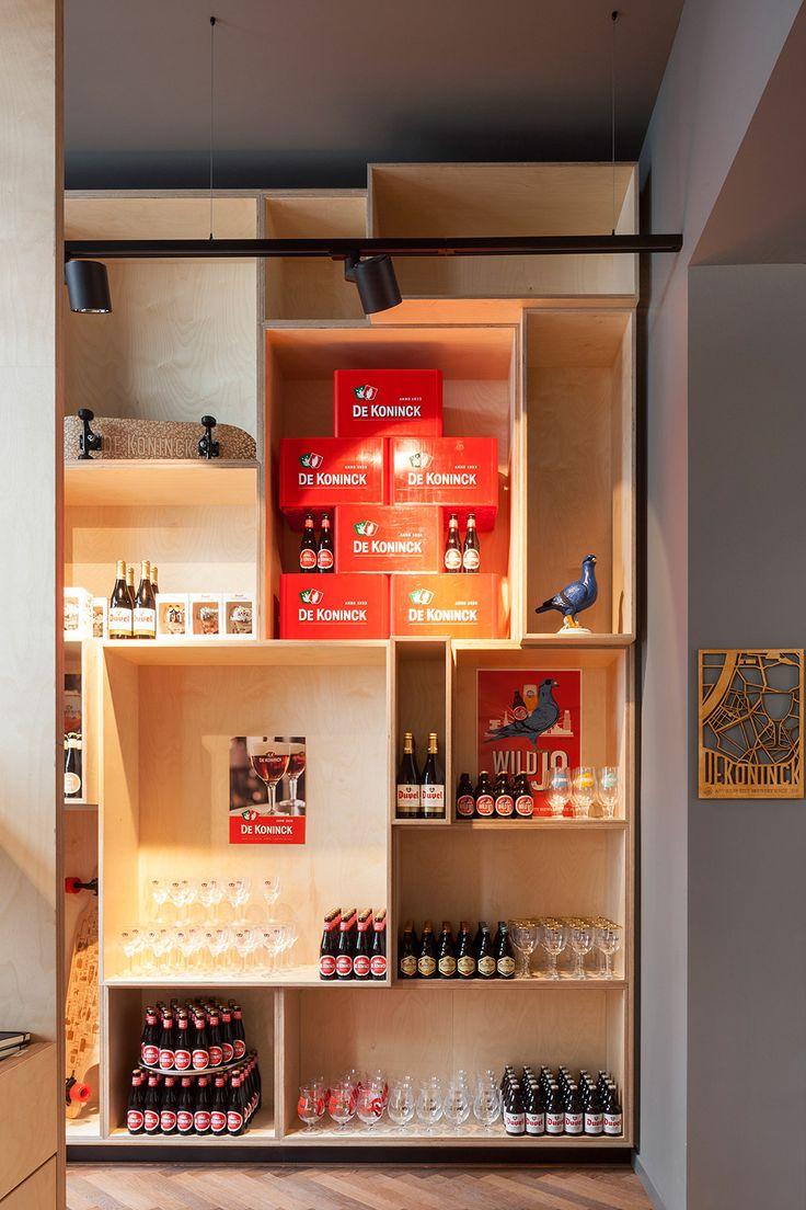 Brewery 'Brouwerij De Koninck' in Antwerp, Belgium. This place is lit by the Modular Lighting Instruments' Stove #supermodular