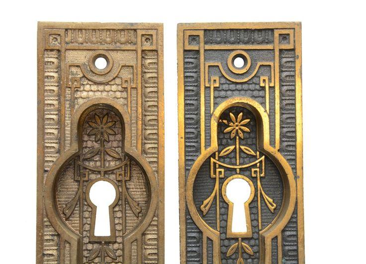 EASTLAKE POCKET DOOR HARDWARE Architectural Antiques