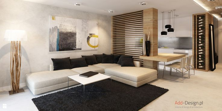 Salon styl Nowoczesny - zdjęcie od Add Design - Salon - Styl Nowoczesny - Add Design