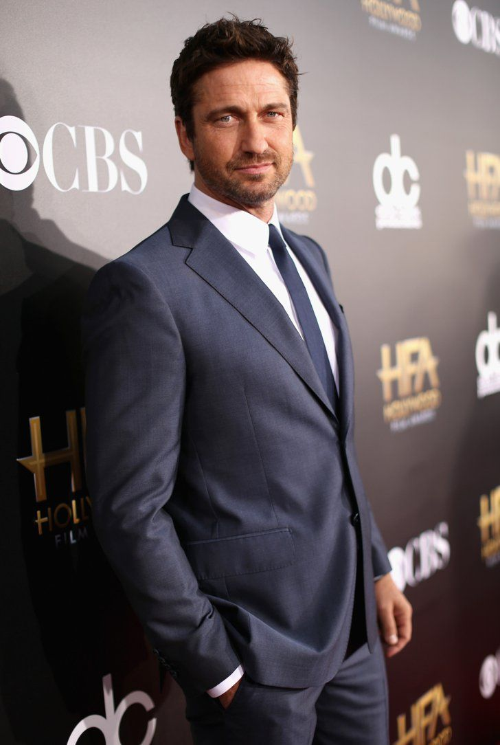 Pin for Later: Toutes Nos Stars Favorites Ont Assisté Aux Hollywood Film Awards Gerard Butler