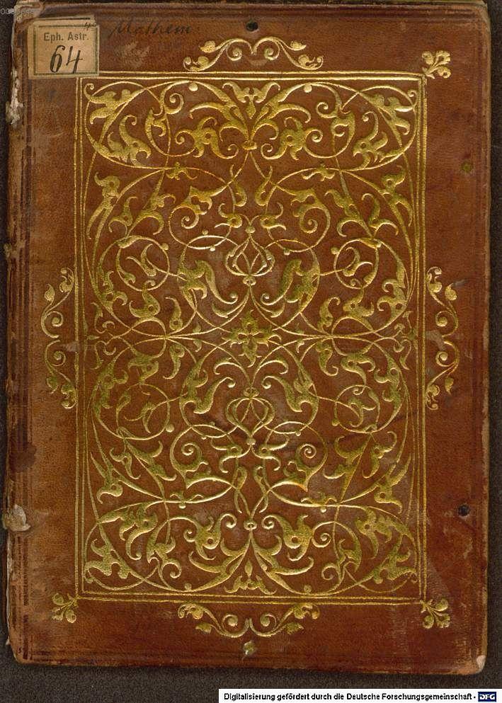 Bucheinband, Augsburg 1552, BSB München
