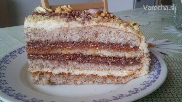 Recept na moju úplne prvú tortu, ktorú som upiekla.
