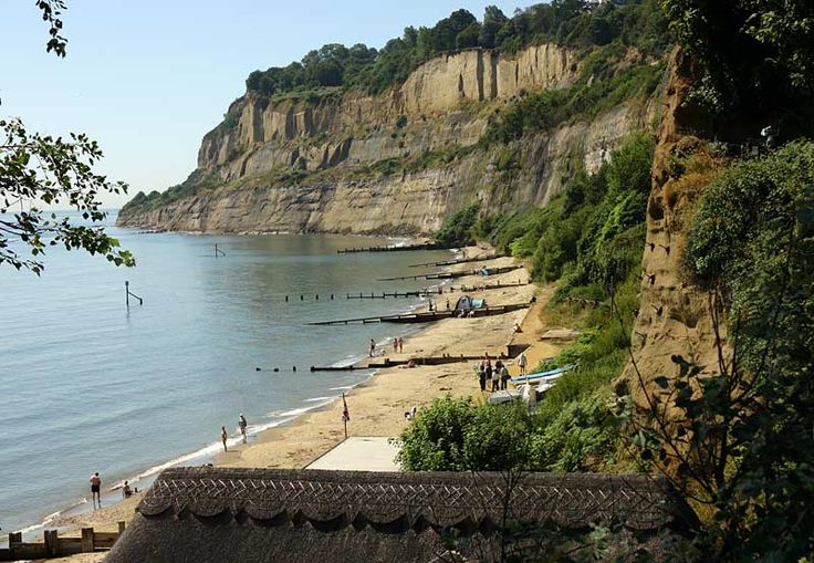 Beyond Fisherman's Cottage, Shanklin, Isle of Wight, England