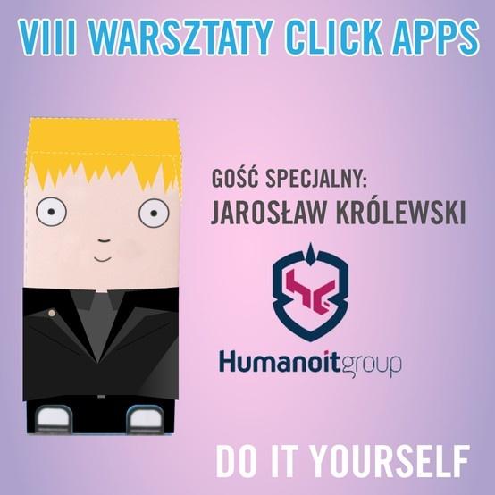 Jutro widzimy się z Jarosław Królewski w ClickCommunity