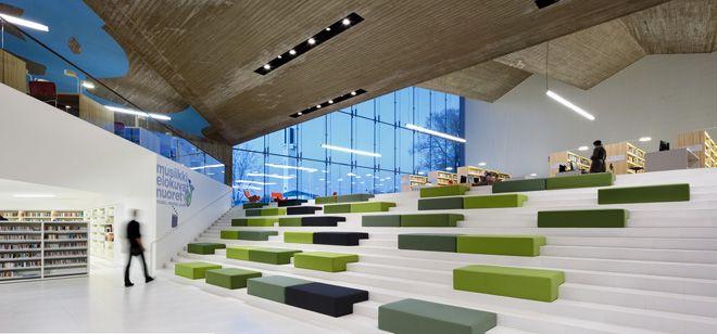 Seinäjoki City Library Expansion by JKMM Architects