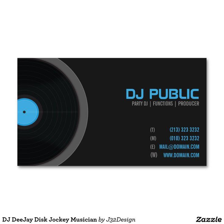 170 best DJ/Music Business Cards images on Pinterest | Visit cards ...