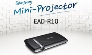 Samsung Mobile Beam Projector is a pocketable pico projector for phones and laptops