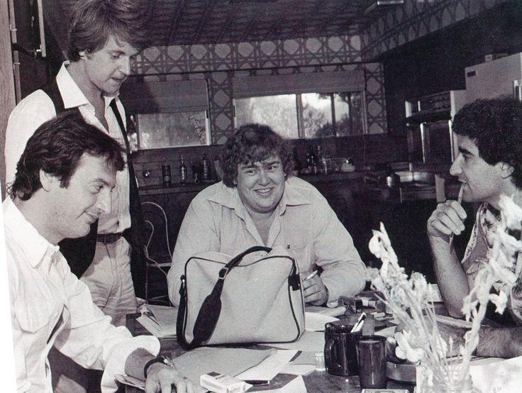 Joe Flaherty, Dave Thomas, John Candy, Eugene Levy