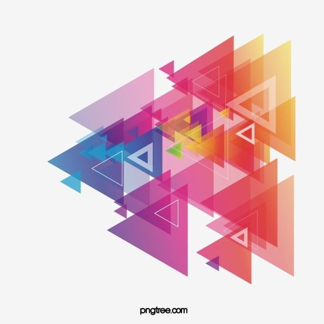 Science And Triangle Color Triangular Shape Elements Brochure Design Png And Vector With Transparent Background For Free Download Geometric Pattern Background Brochure Design Background Patterns