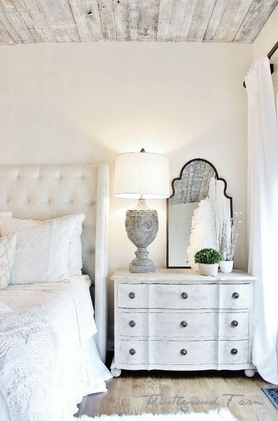 White And Wood Bedroom best 25+ rustic grey bedroom ideas on pinterest | wall headboard