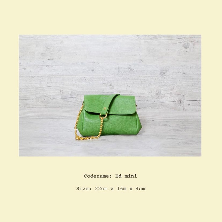 Ed Mini in happy green