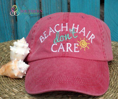 Beach Hair Don't Care - Choose Your Cap!