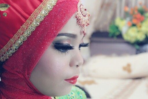 AFTER MAKEUP FOR FIRST RESEPSI