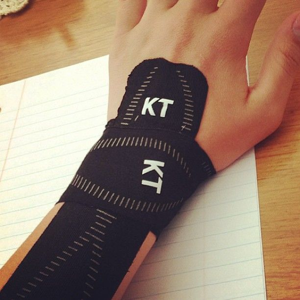 how to tape wrist for support