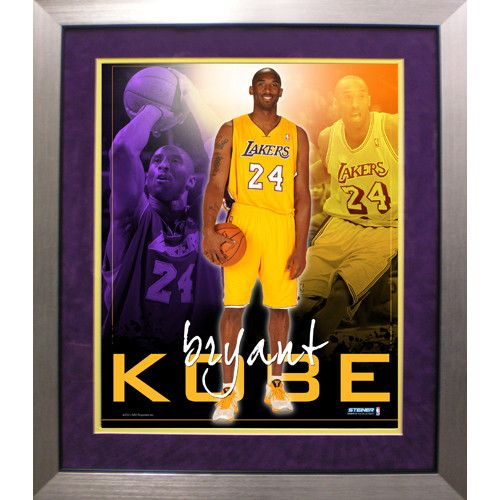 Kobe Bryant LA Lakers Team Colors Composite Vertical Framed 16x20 Collage - . Gifts > Licensed Gifts > Nba > Los Angeles Lakers. Weight: 1.00