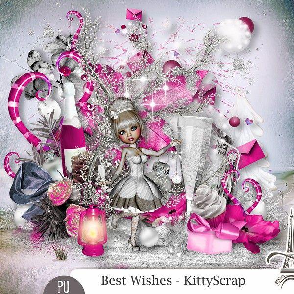 ESSENTIEL - Best Wishes de kittyscrap