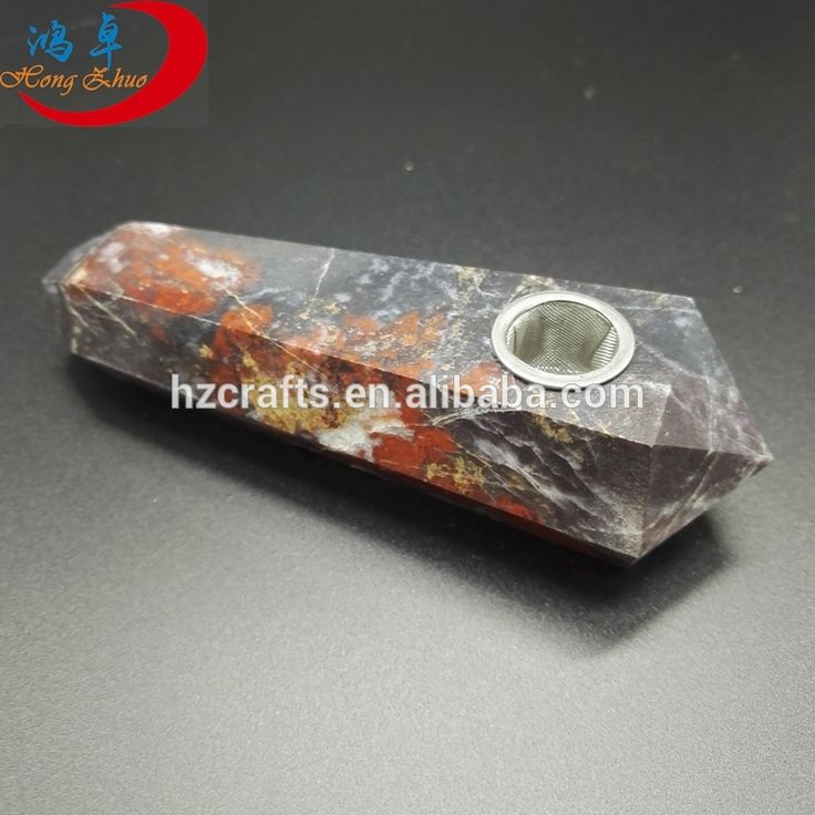 2017 natural quartz crystal smoking pipes weed engraved semi-precious jade smoking pipe for sale
