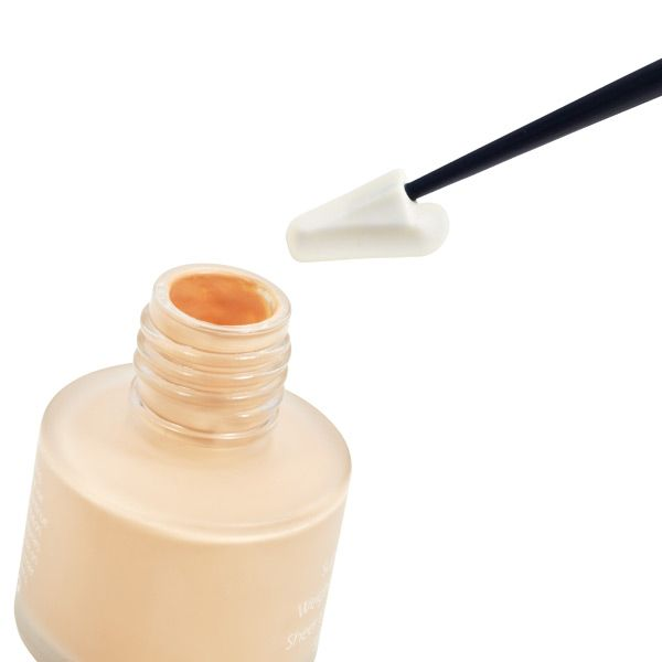 Every Drop Beauty Spatula--t allows you to use every last bit of product in a jar or bottle - no shaking, tapping or rolling required. The long stem reaches the bottom of even tall containers, ensuring you get your money's worth from every product in your cosmetics and skincare collection.