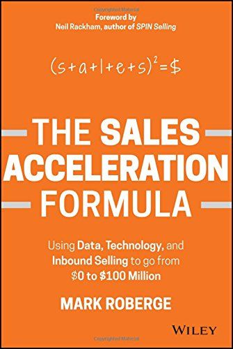 46 best marketing sales management images on pinterest sales the sales acceleration formula mark roberge available in the vlerick e library fandeluxe Images