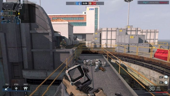 Ironsight is a Free-to-play Shooter FPS Multiplayer MMO Game set in Dystopia 2025, where the warring factions, the North Atlantic Forces (NAF) and the Energy Development Enterprise Network (EDEN) are engaged in futuristic warfare in the final battle for supremacy over the last natural resources on earth