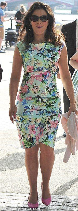 Zara Celebrity Floral Dress 78