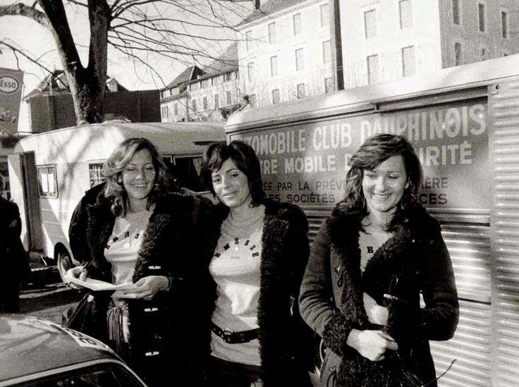 Rallye Neige et Glace, 1971.