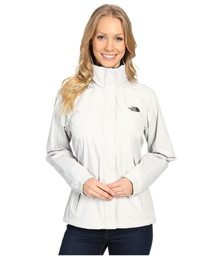 THE NORTH FACE THE NORTH FACE - RESOLVE JACKET (LUNAR ICE GREY) WOMEN'S COAT. #thenorthface #cloth #