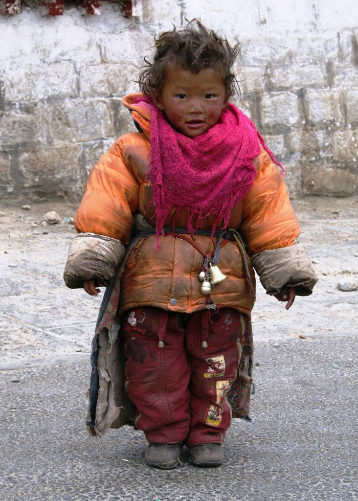 Precious Little One from Tibet