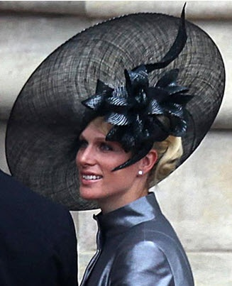 Zara Phillips in an amazing hat