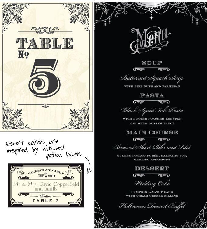 Best 25+ Halloween wedding invitations ideas on Pinterest ...