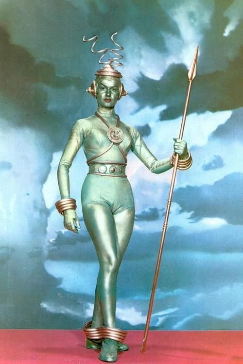 Kitschy Living - silver space woman