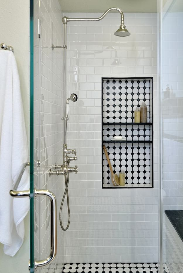 Add A Shower Niche | Small Bathroom Ideas: Simple Ways To Maximize Your Space
