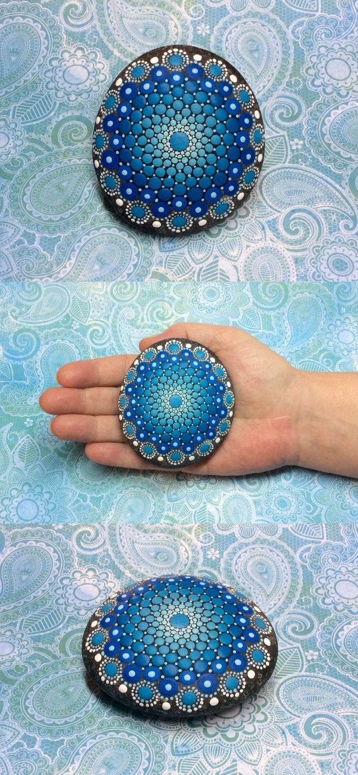 510 best mandala stones images on Pinterest | Painted rocks, Rock ...