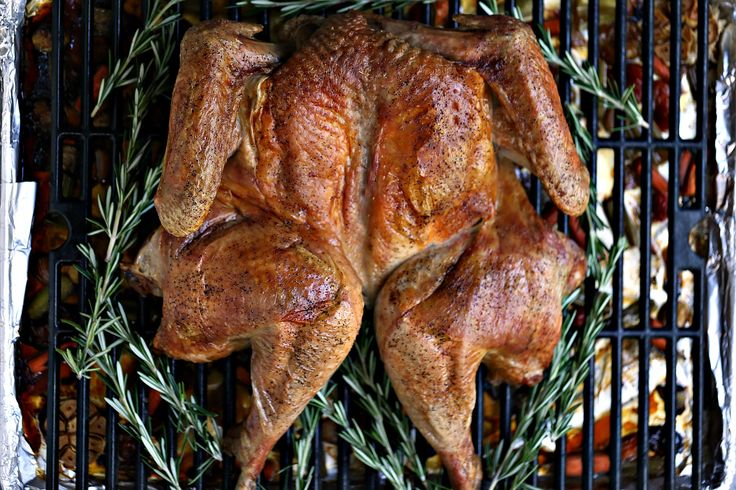 How to Cook a Spatchcocked Turkey by cravingsofalunatic