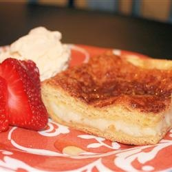 Sopapilla Cheesecake Pie Allrecipes.com