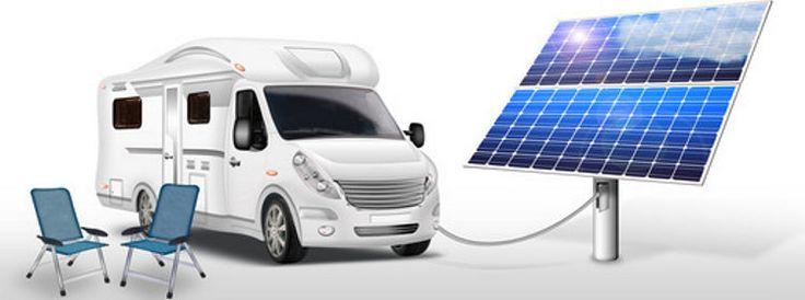 Solar im Wohnmobile: dank mobiler Solaranlage Wohnmobil oder Wohnwagen selbst mit Strom versorgen, beim Camping flexibel und unabhängig von Landstrom sein.