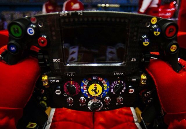 Modern F1 Steering Wheel Ferrar Sf15t Formula 1