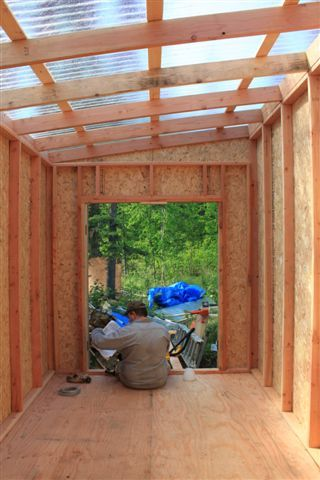 shed with clear roof                                                                                                                                                      More