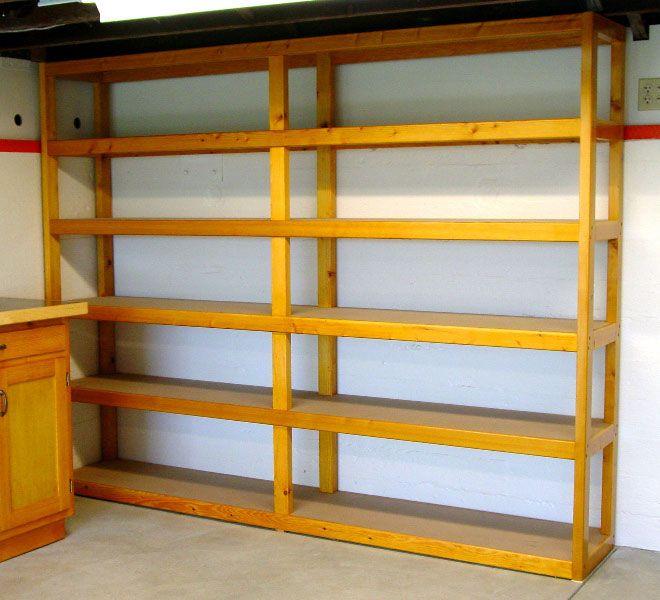 Best 25 Garage shelving plans ideas on Pinterest  Garage