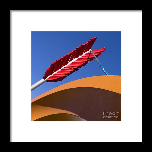 San Francisco Cupids Span Sculpture At Rincon Park On The Embarcadero Dsc1819 Square Framed Print by Wingsdomain Art and Photography  san francisco sf ca california bayarea bay area cityscape cityscapes embarcadero the embarcadero china …