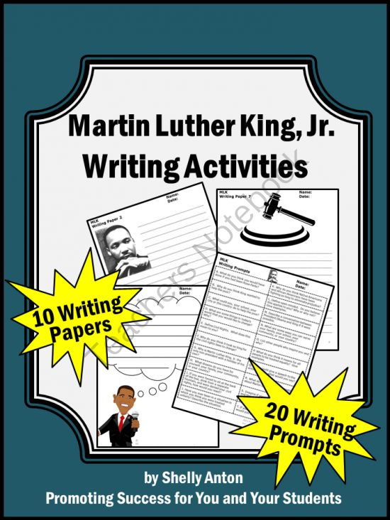martin luther king jr essay prompts Martin luther king's i have a dream speech video writing prompts  by: teachhub blog teachhub blog k-2: you have a dream  3-5: writing techniques in the i have a dream speech martin.