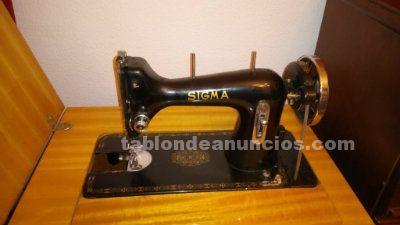 Maquina de coser sigma. Segunda mano